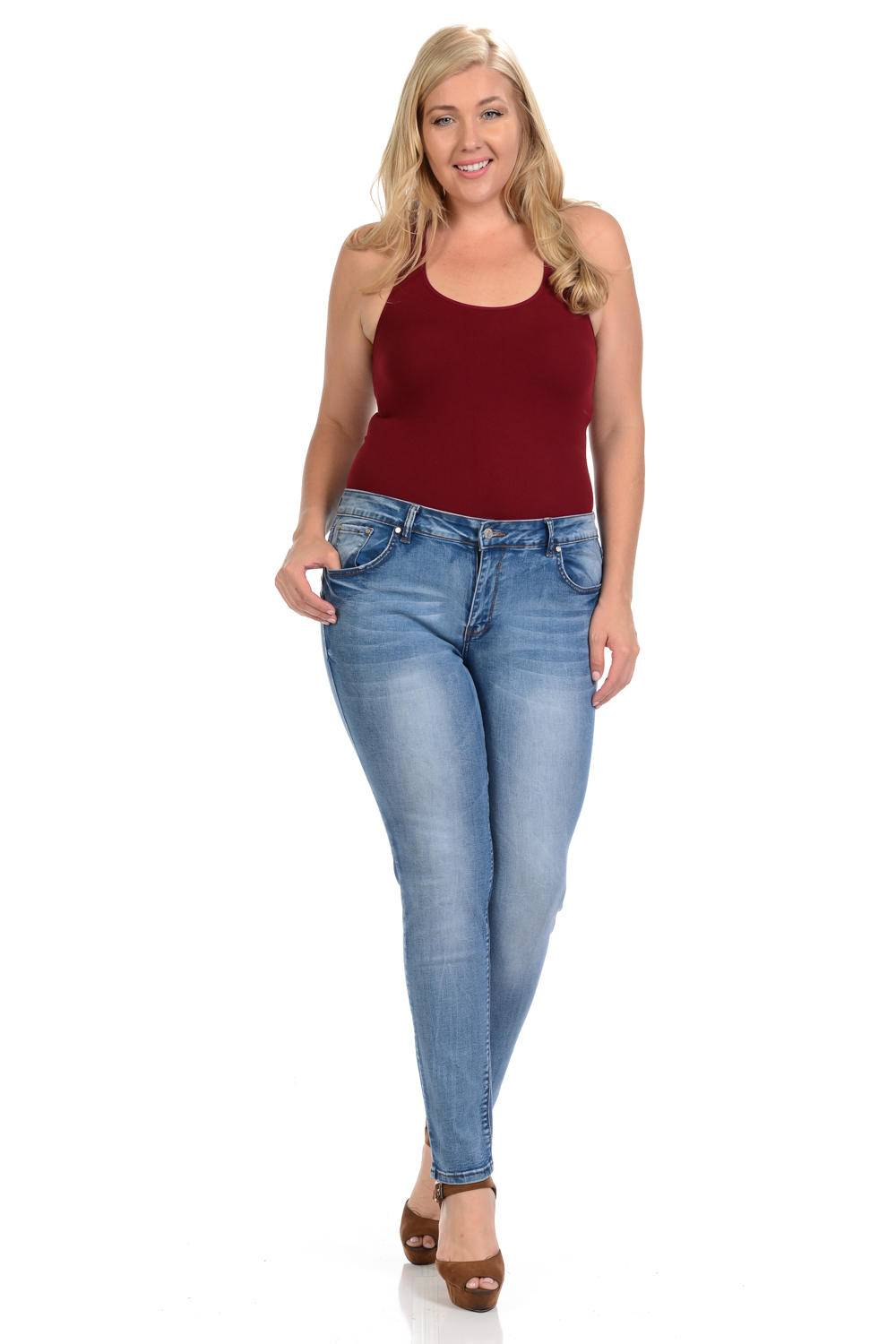 Womens Jeans Size Chart