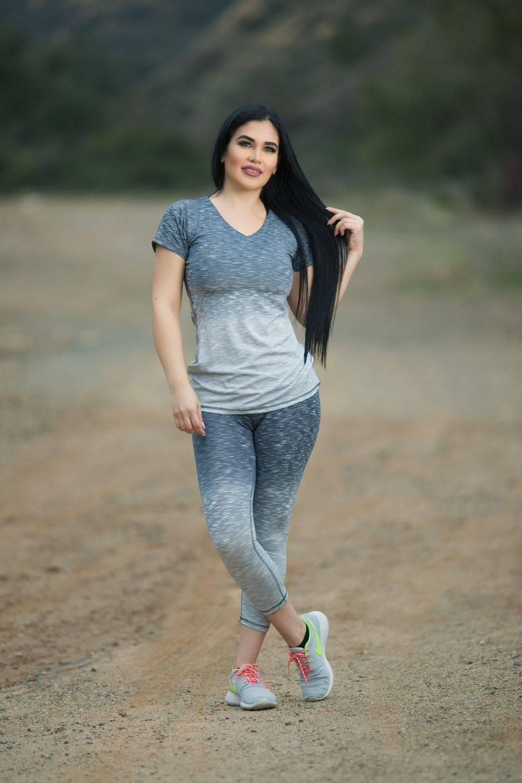 57be660221c4e Diamante Women's Power Flex Yoga Pant Legging Sportswear (Sizing: S-L) ·  SET · Style C004A