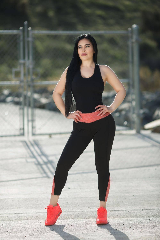 30dc2826876ca Diamante Women's Power Flex Yoga Pant Legging Sportswear · Capri · Style B07
