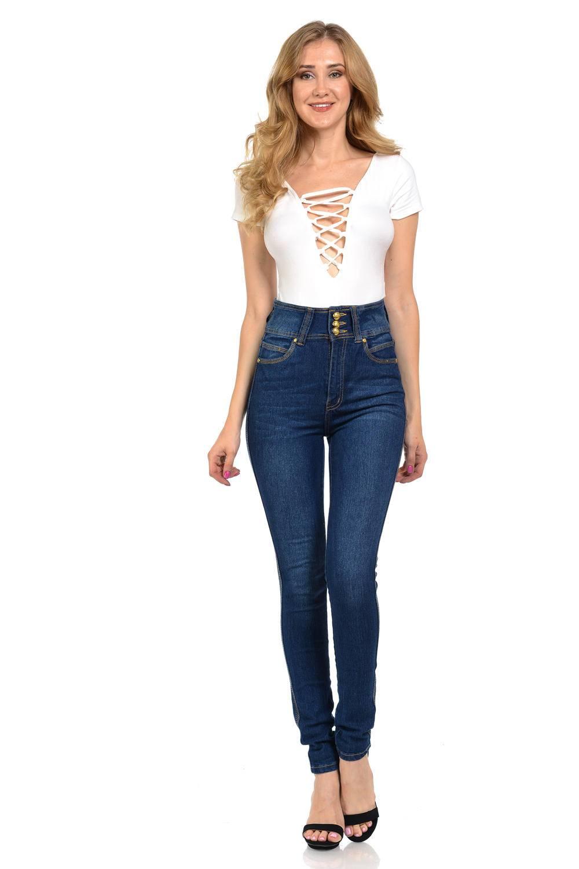 Diamante Womens Jeans (Sizing: 0-15) · Skinny · Style WG0035