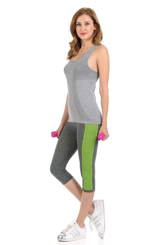 Casual Women Power Flex Sports Pants Workout Yoga Capris Pants Leggings Trousers